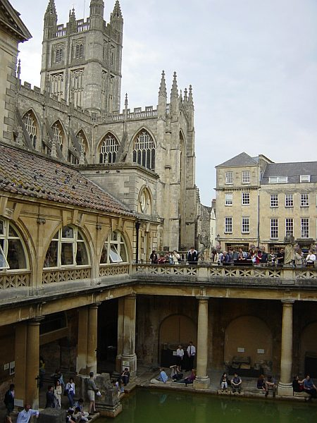 Photo - Roman Bath & Bath Abbey