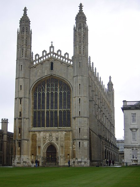 Photo - Cambridge - King's Chapel