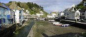 Polperro - Panoramic composition - Looe - Polperro
