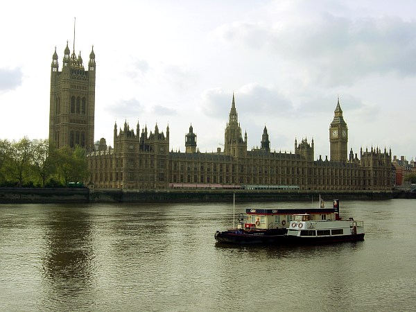 Photo - Palace of Westminster & River Thames