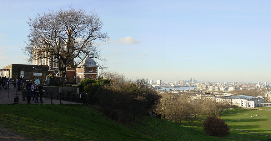 Photo - London from the Greenwich Observatory