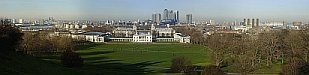 Greenwich - Isle of Dogs & Millenium Dome - Greenwich
