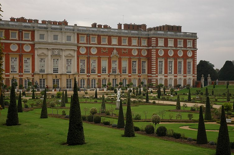 Photo - Dans le parc d'Hampton Court Palace