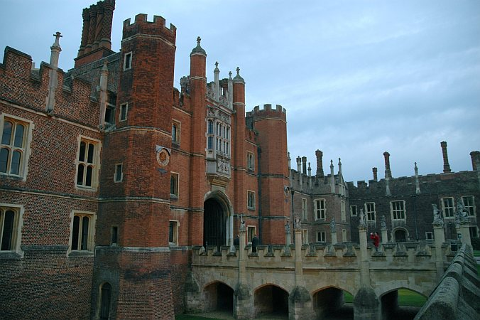 Photo - Hampton Court Palace - Fin de visite