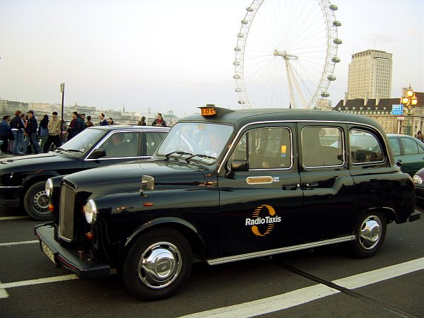 Photo - London Cab on Westminster Bridge