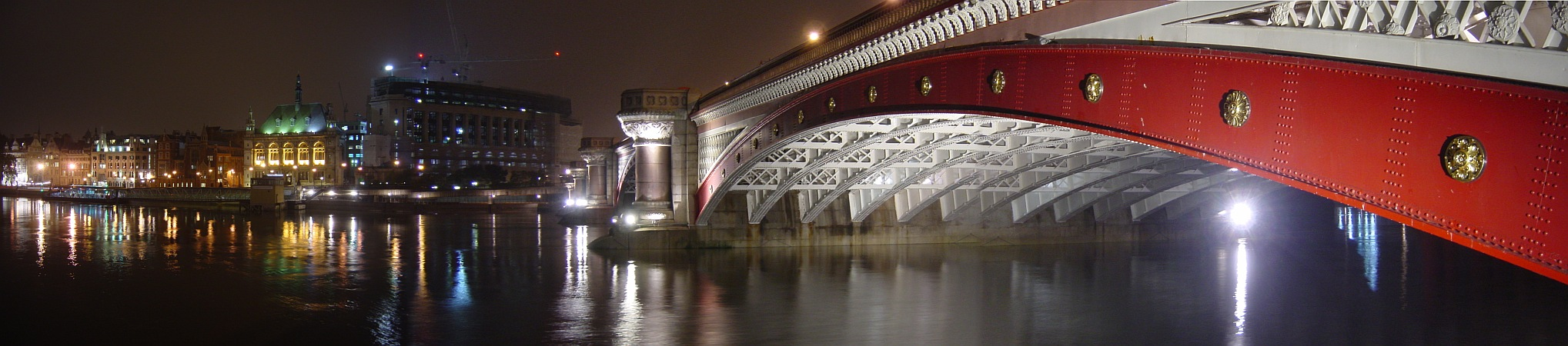 Photo - Blackfriars bridge de nuit
