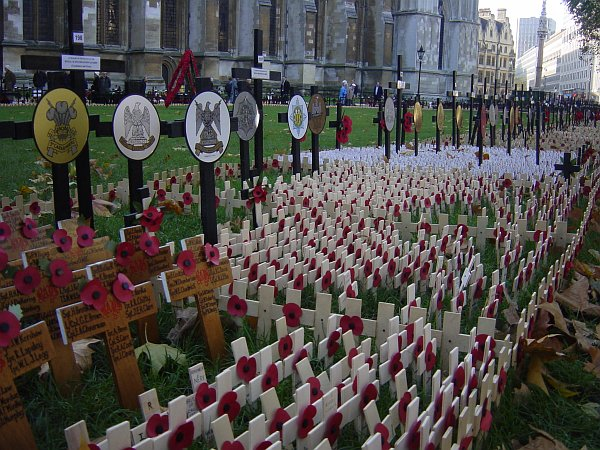 Photo - Remembrance day - Westminster Cathedral