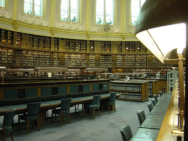 Photo - British Museum Reading Room