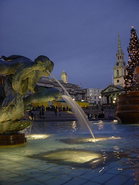 Photo - Trafalgar Square - Londres