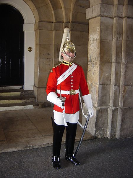 Photo - Guard @ Horse Guards Casern