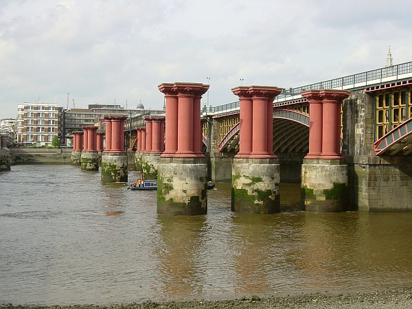 Photo - River Thames & Blackfriars Bridge