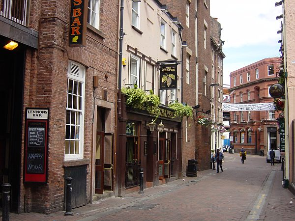 Photo - Liverpool - Mathew Street