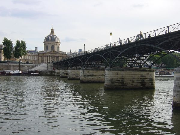 Photo - The River Seine - Pont des Arts