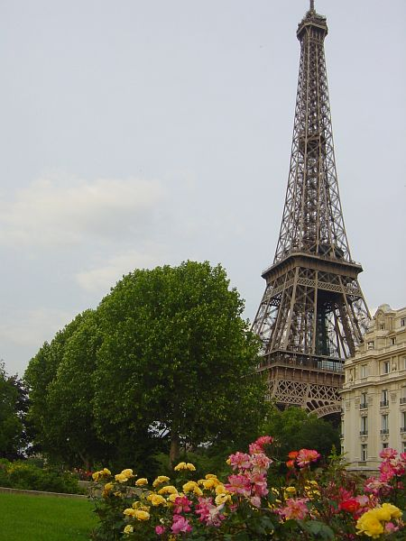 Photo - Approaching the Eiffel Tower
