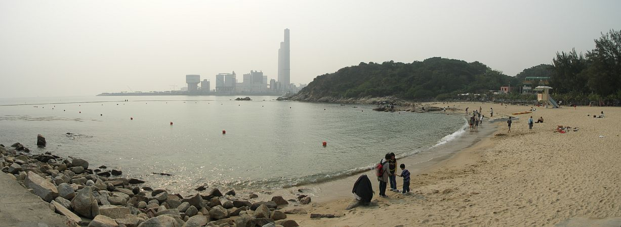 Photo - Lamma Island - Power Station & Beach