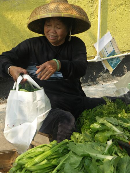 Photo - Locally grown vegetables for sale