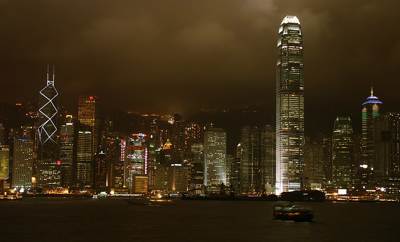 Photo - Hong Kong - Central by Night