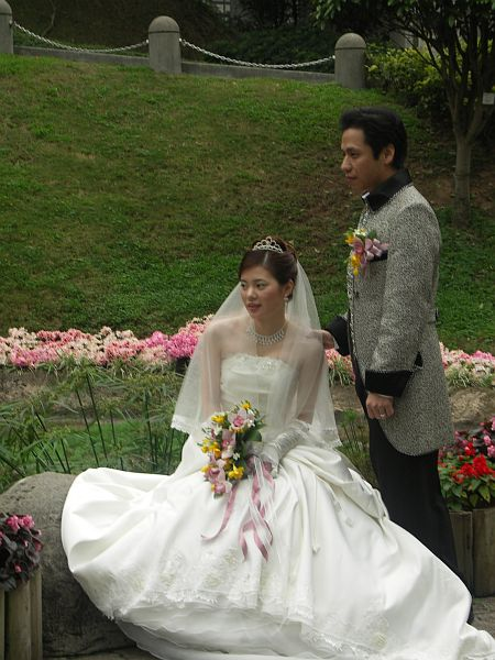 Photo - Wedding pictures in Hong Kong Park