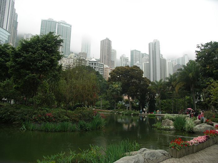 Photo - Hong Kong Park & Skyscrapers