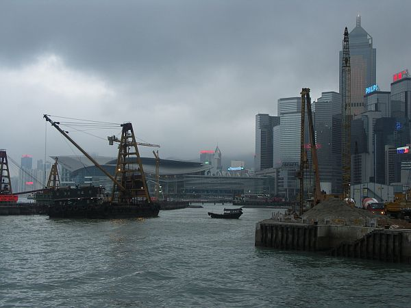 Photo - Victoria Harbour - Reclamation work