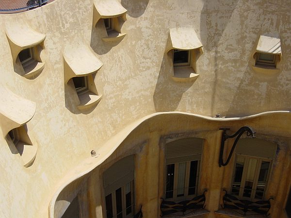 Photo - Casa Milà - Inner courtyard