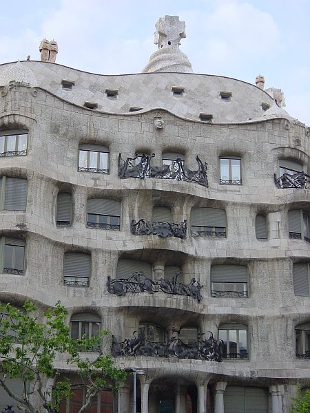 Photo - Casa Milà - Façade