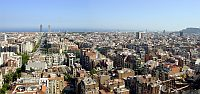Barcelona - Panoramic view - Barcelona - Areas of interest
