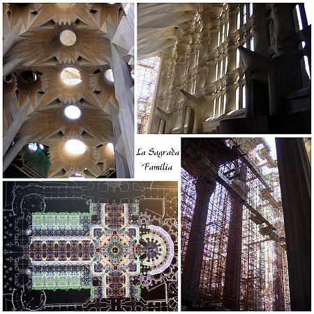 Photo - La Sagrada Familia - Composition n°3
