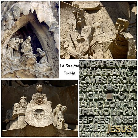 Photo - La Sagrada Familia - Composition n°2