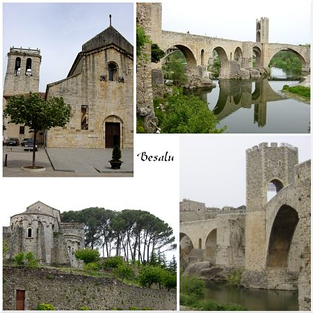 Photo - Besalú - Composition