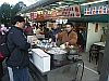 Hot drinks for sale at Chushan mount - Alishan - Sunrise