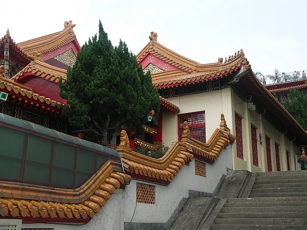 Photo - Wenwu Temple - Pavillons latéral