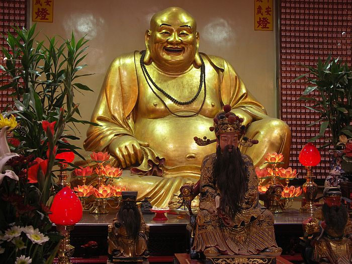 Photo - Golden Happy Buddha - Hsinchu temple
