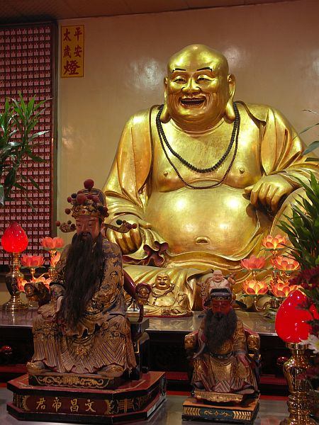 Photo - Happy Buddha - Hsinchu temple